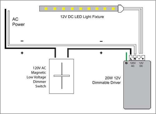 88light how do you dim led lights using a 120v ac magnetic low voltage dimmer switch asfbconference2016 Choice Image