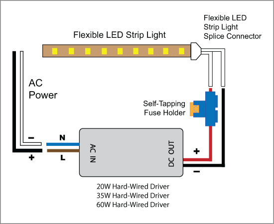 88Light - Self-Tapping Fuse Holder wiring diagram