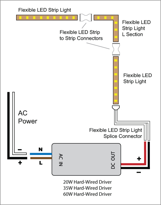 rc led light wiring diagram